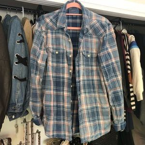 Lucky Brand Plaid Flannel